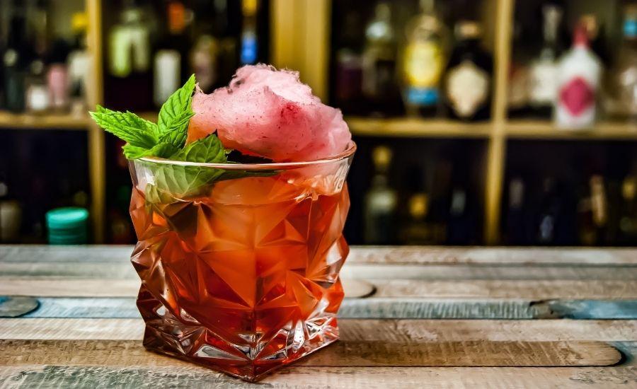 Fairytale Negroni cocktail