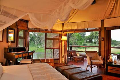 Hamiltons Tented Camp Inside Suite