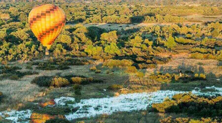 Hot Air Balloon - credit Wilderness