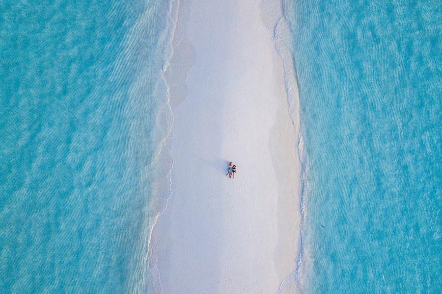 Maldives couple