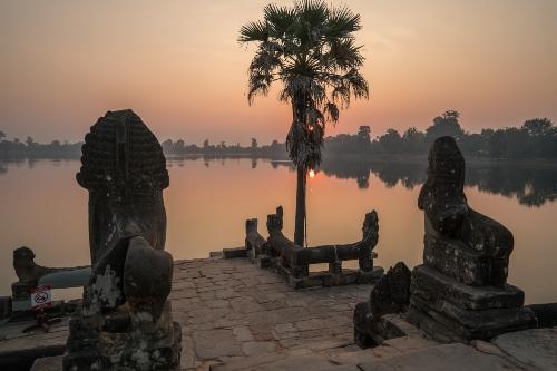 Sunrise at Srah Srang, Siem Reap, Cambodia