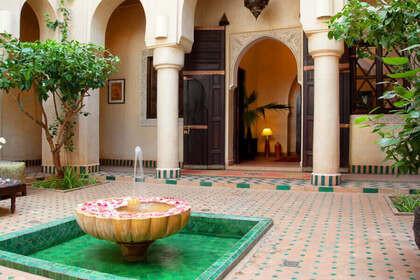 Agasana Riad Courtyard