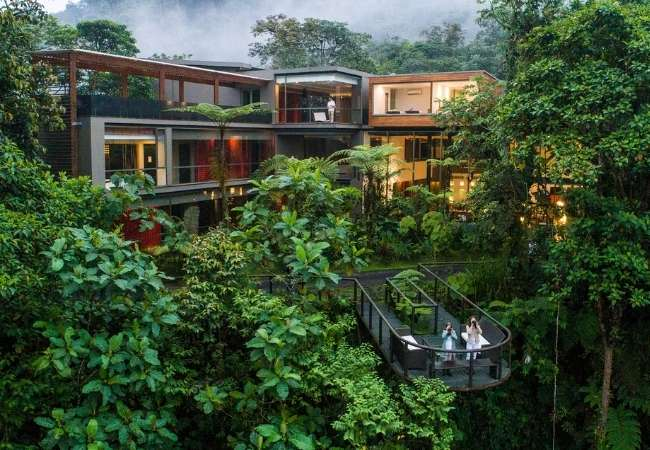 Ecolodge in the Cloud Forest, Ecuador