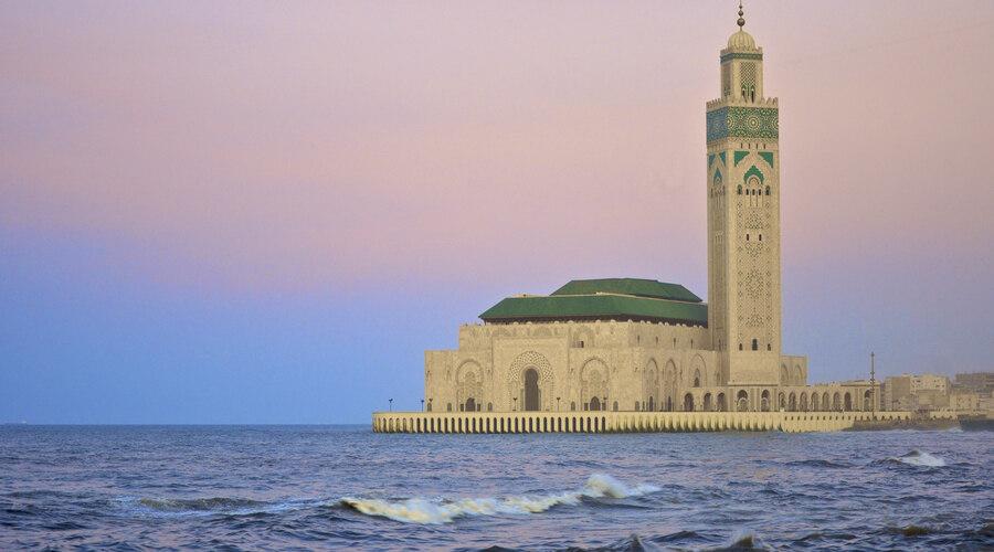 King Hassan II mosque in Casablanca
