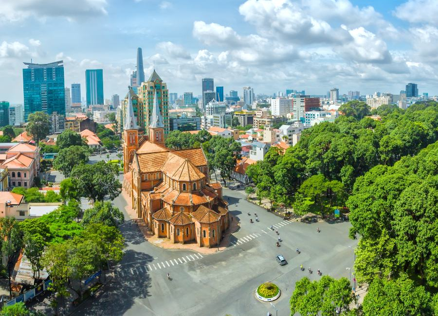 Cathedral, Ho Chi Minh City, Vietnam