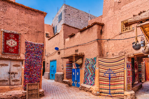Morocco Rug Market