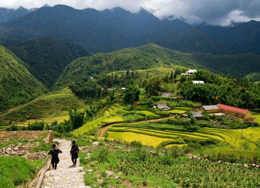 Trekking around Sapa, Vietnam