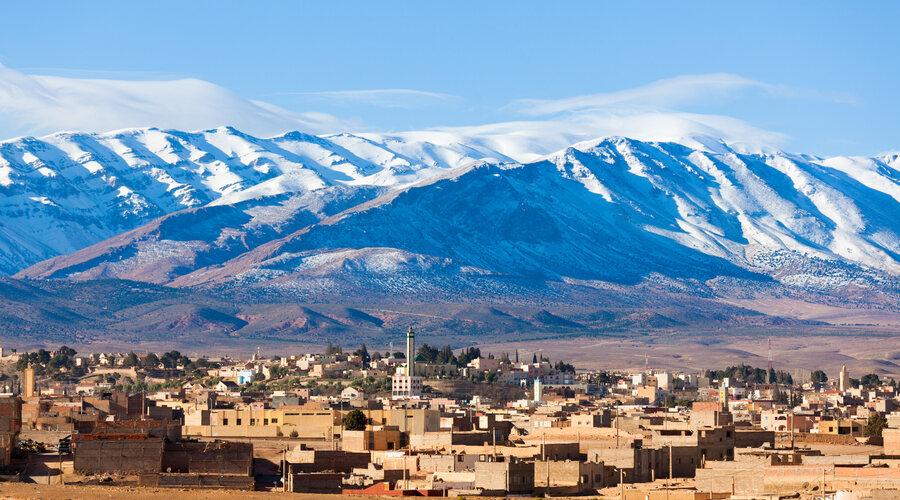 Snow Mountains Morocco
