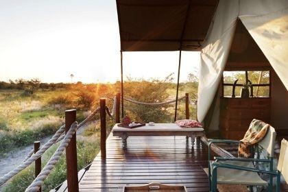 Camp Kalahari Bedroom Tent, Botswana