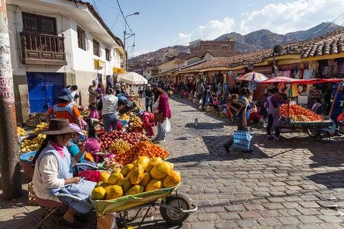 Cusco Market Peru