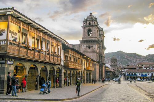 Plaza de armas - Cucso - Peru