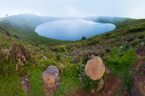El Junco Lagoon Galapagos Islands,