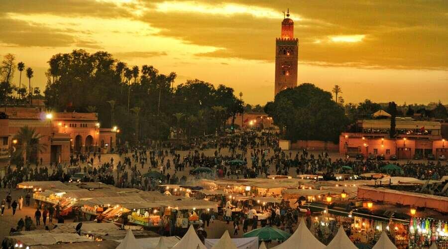 Djemaa El Fna Square Marrakech