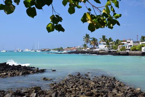 Santa Cruz Harbor Galapagos