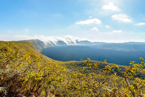 Sierra Negra Volcano Galapagos