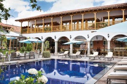 Palacio Nazarenas Pool, Cusco Peru