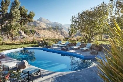 Cassitas Del Colco Pool, Peru