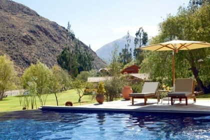 Rio Sagrado Pool, Sacred Valley Peru
