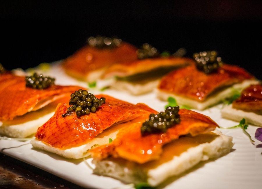Roast Duck With Caviar, Singapore