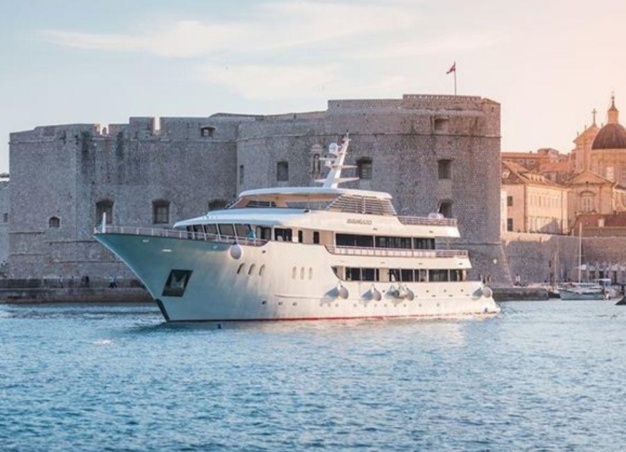 Croatia's eco friendly cruise line
