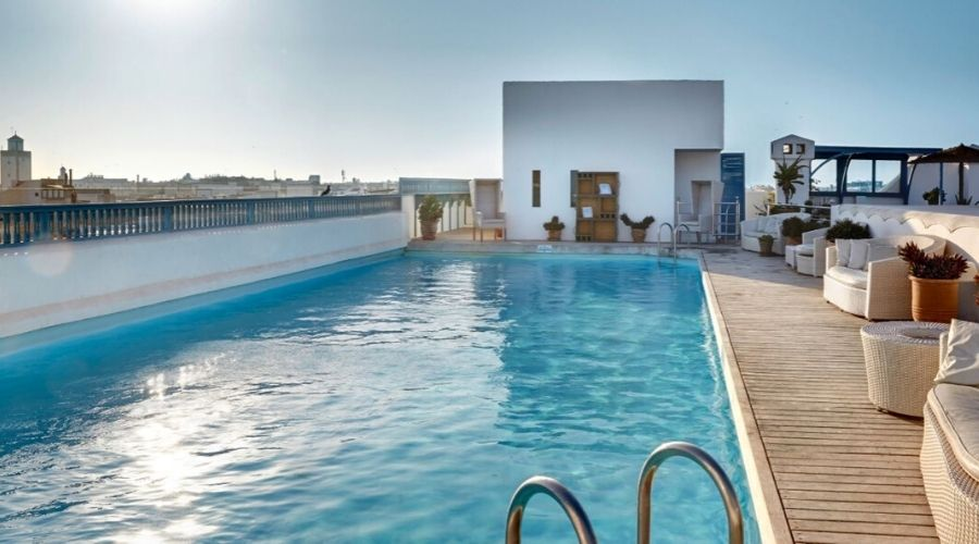 Heure Bleu Palais, Essaouira, Morocco