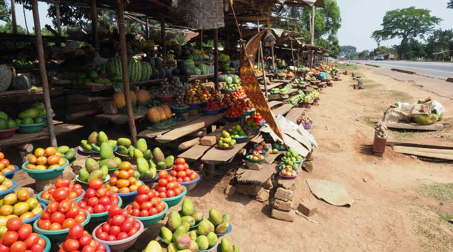 Market Kampala Uganda