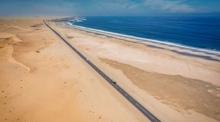 Skeleton Coast Road, Namibia