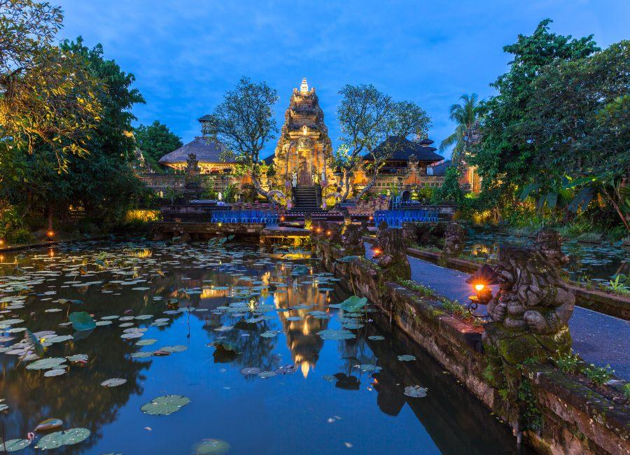 Pura Saraswati Temple, Ubud, Bali