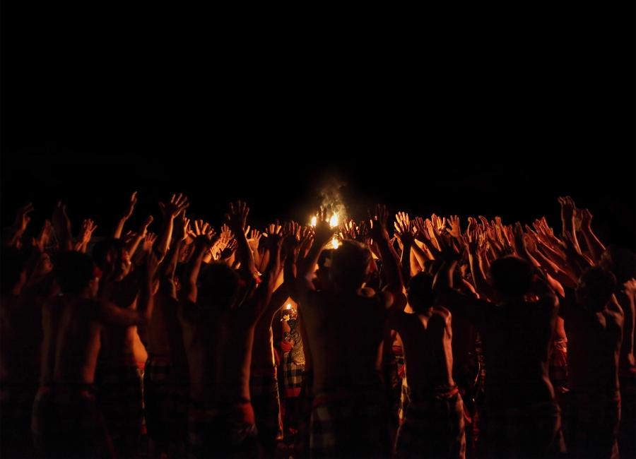 Kecak Fire Dance, Uluwatu, Bali