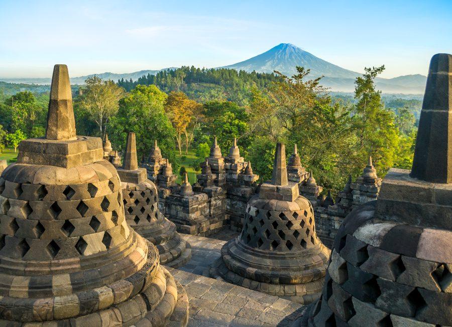 Borobudur Temples, Java