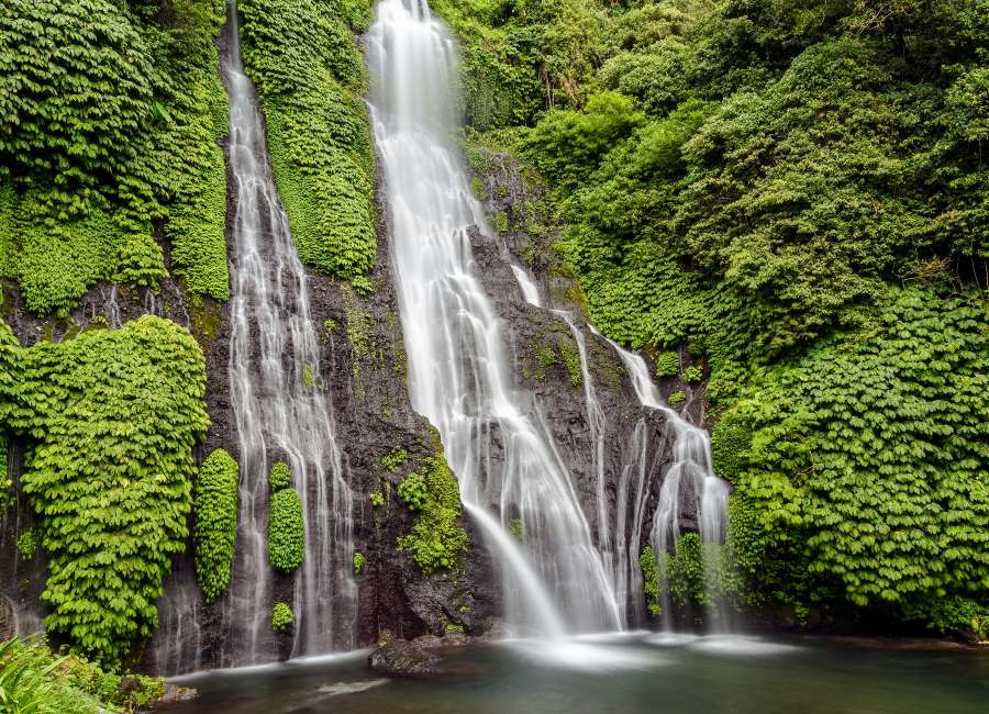Banyumala Twin Waterfall, Munduk, Bali