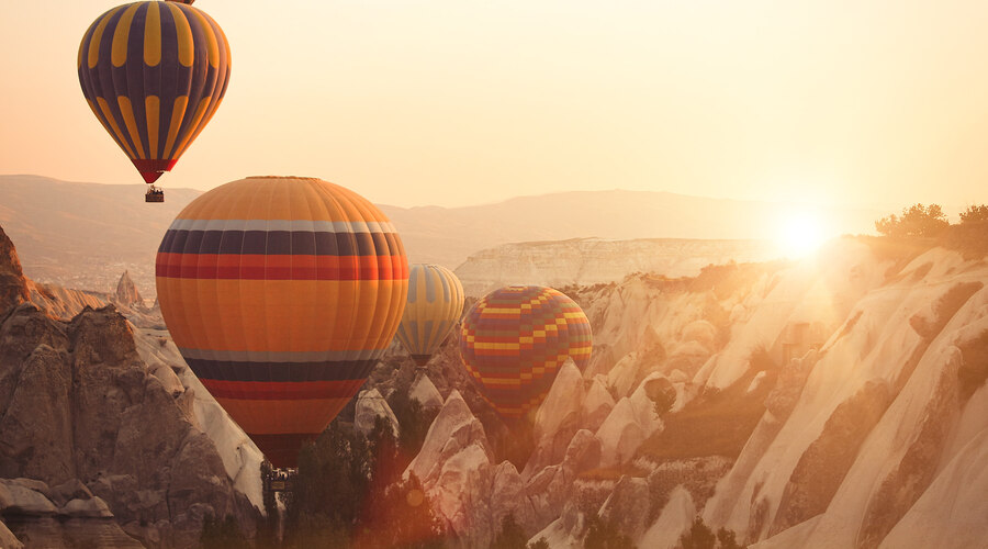 Hot air balloon Cappadocia, Turkey
