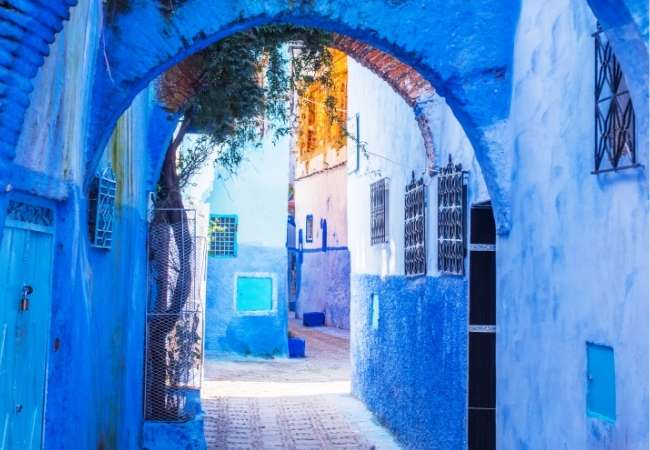 Blue City, Morocco