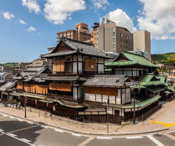 Dogo Onsen Honkan, Matsuyama, Japan