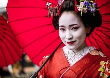 Geisha in Japan, Kyoto