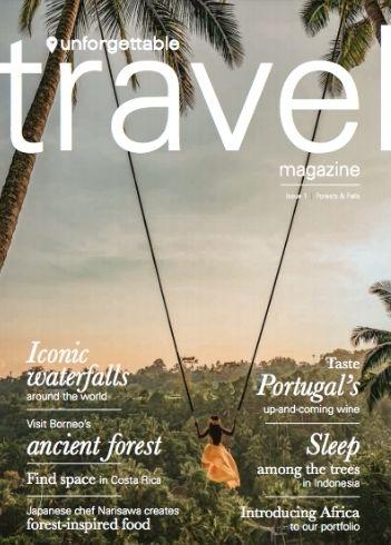 Issue One of Unforgettable Travel Magazine