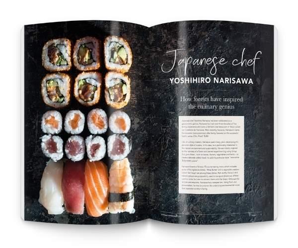 Japan food article, Issu3 1