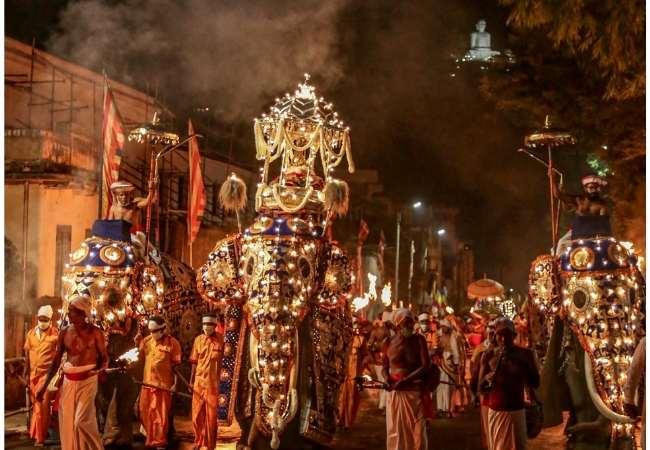 Kandy Sri lanka festival