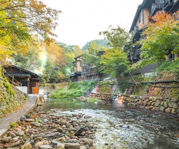 Kurokawa Onsen, Kyushu, Japan