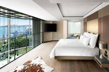 Loft Bedroom - Swiss Hotel