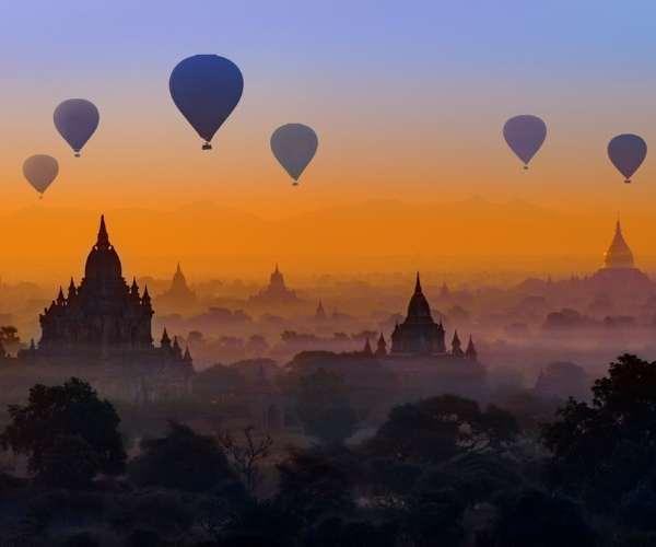 Myanmar Hot air ballooon