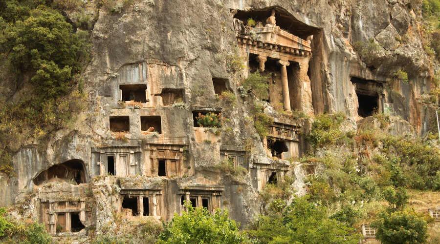 Rock Tombs Fethiye Turkey