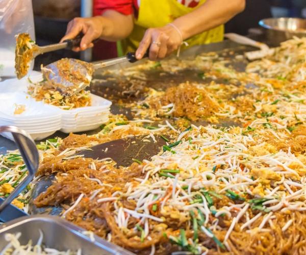 Street food, Khao San Road, Bangkok