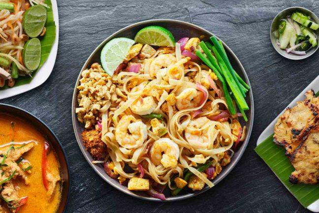 Delicious food in Thailand