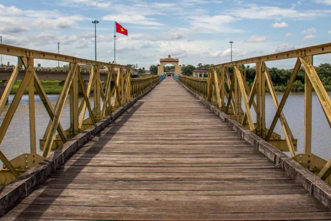 17th Parallel Bridge in the former DMZ, Quang Tri Province