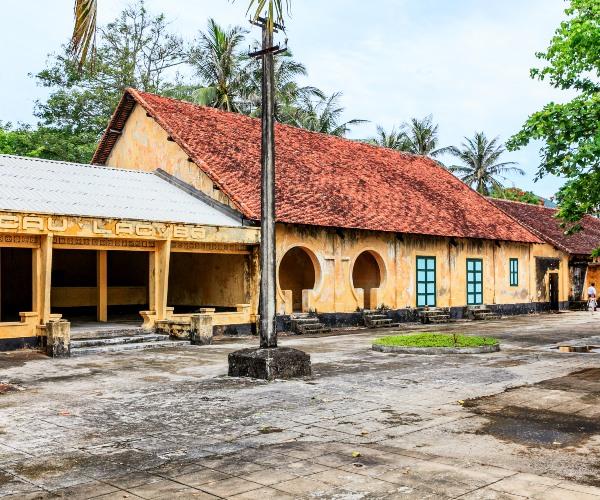Abandoned Outbuildings at the Con Dao Prison, Con Son