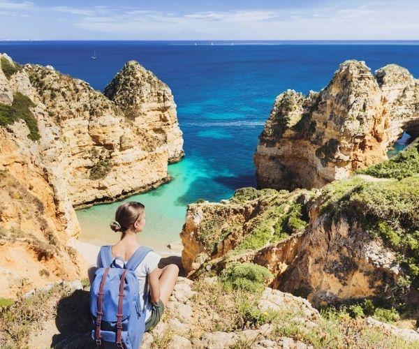 Portugal in Fall, hiking in the Algarve