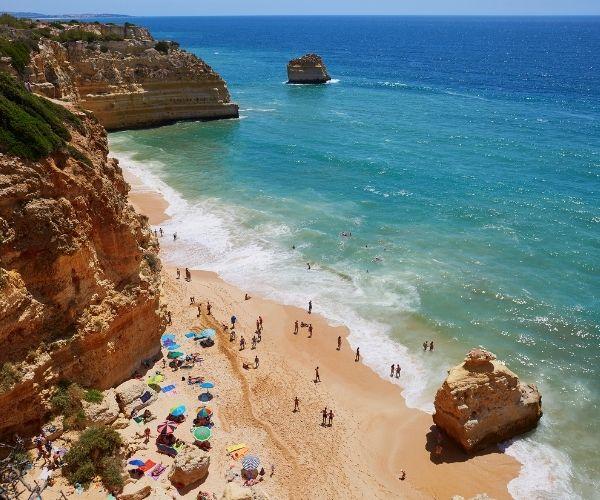 Portugal in Summer, Algarve beach